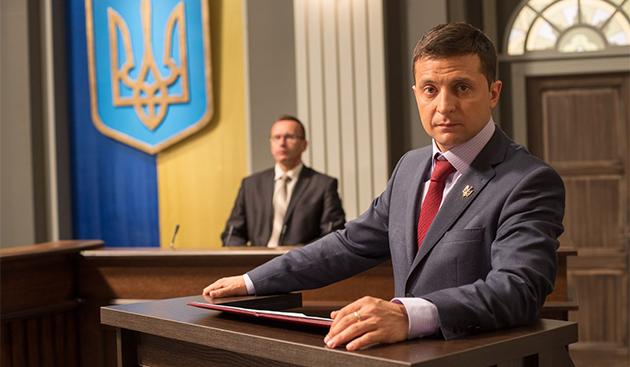 Зеленский президент Klymenko Time
