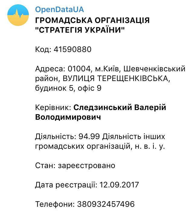 Стратегия Украины Следзинский Валерий