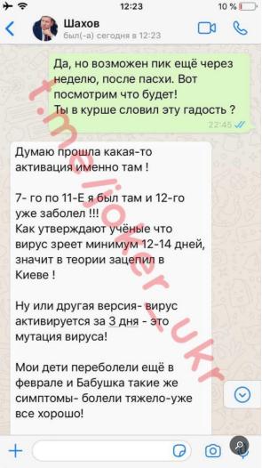 Переписка Джокера с Шаховым