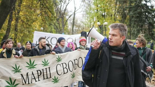 Тарас Ратушный. Фото с сайта Марш свободы