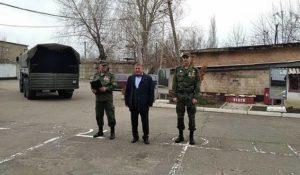 """Призыв в армию """"ДНР"""" 2021: первые юноши прибыли в учебную часть фото 3"""