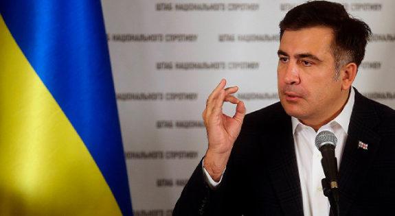 «Ткаченко — барыга!»: Саакашвили наехал на министра культуры, обвинив его в коррупции