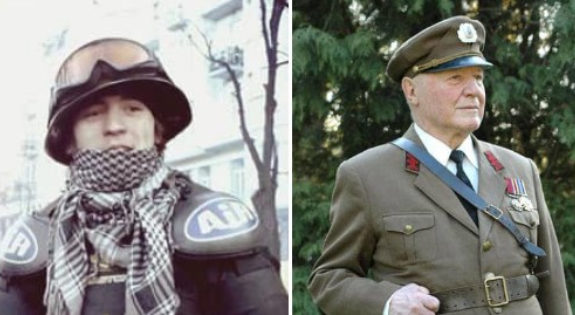 Вятрович предлагает дать Героя Украины пожилому бойцу УПА и АТОшнику, убивавшему «беркутовцев» на Майдане